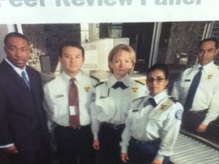 OLD TSA WHITE UNIFORM.